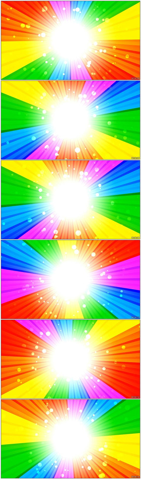 多彩背景旋转LED动态背景素材