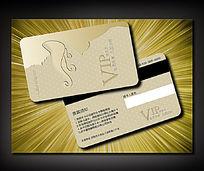 时尚美容美体VIP卡模板