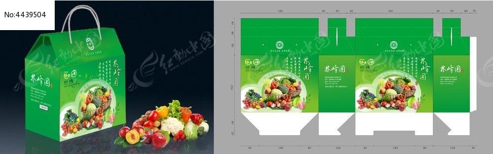 蔬菜水果礼品包装设计cdr图片