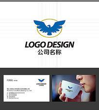 飞鹰LOGO标志设计 AI