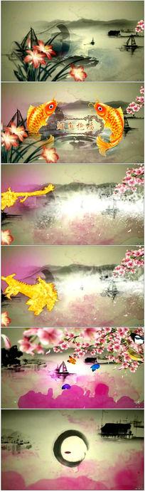 《五福临门》生日祝寿视频片头