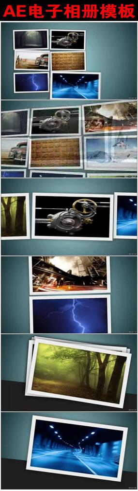 宣传画册摄影图片展示动画AE模板
