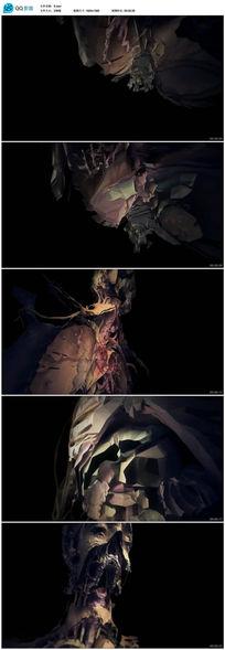 3D人体建模科技复原动态视频