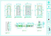 6款 高档酒店套房cad装修图dwg设计下载