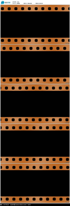 电影胶片边框素材图片