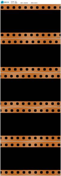 动感遮罩电影胶片边框