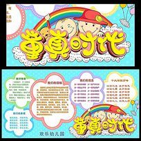 幼儿园宣传展板设计