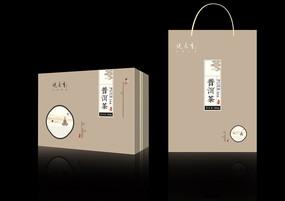 中式茶叶礼盒包装设计