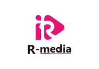 r字母传媒公司logo设计图片