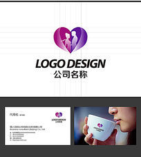 情人节用品LOGO标志设计