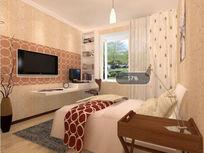 现代卧室效果图3d模型带贴图