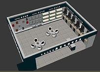 电器展厅3d效果图