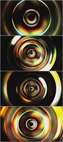 2k超清绚彩镜头光圈光晕视频背景