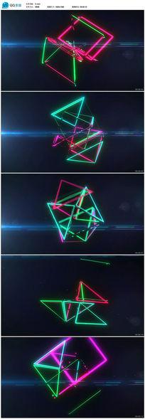 粒子光效光线变化视频素材
