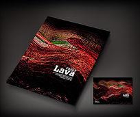 抽象艺术广告册封面设计
