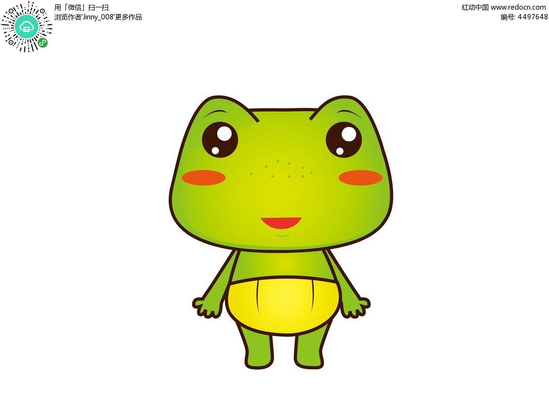 卡通小青蛙妈妈_青蛙妈妈告诉小青蛙小宝宝