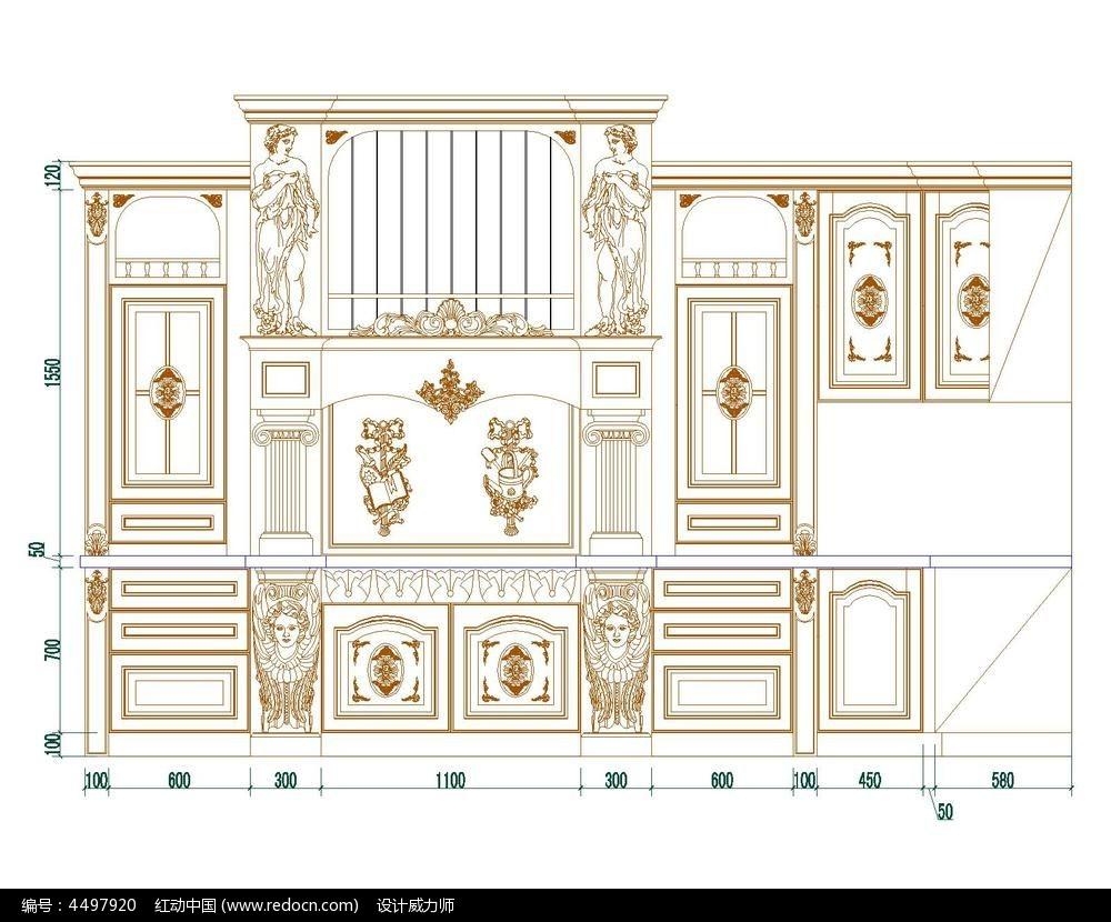 欧式模版图纸cad图纸catia家具模压图片