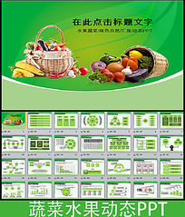 水果蔬菜农业种植生物科技PPT模板