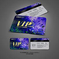 绚丽酒吧VIP会员卡模板