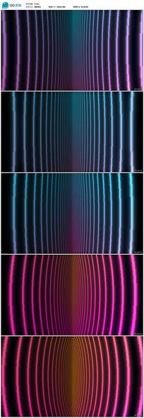 夜场酒吧线条灯光视频素材