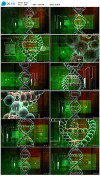 医学粒子细胞视频素材