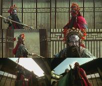 中华著名京剧戏曲演员表演视频素材