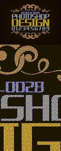 复古字体样式