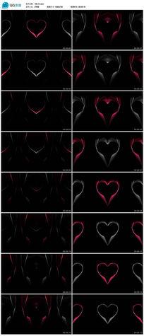 led Valentine 情人节视频背景