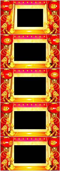 表演舞台效框字幕条栏目包装视频素材