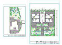 别墅景观园林CAD平面图