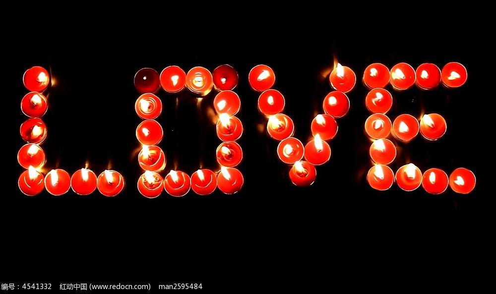 1            标签:红色蜡烛 love字样 蜡烛组成爱心字 视频素材