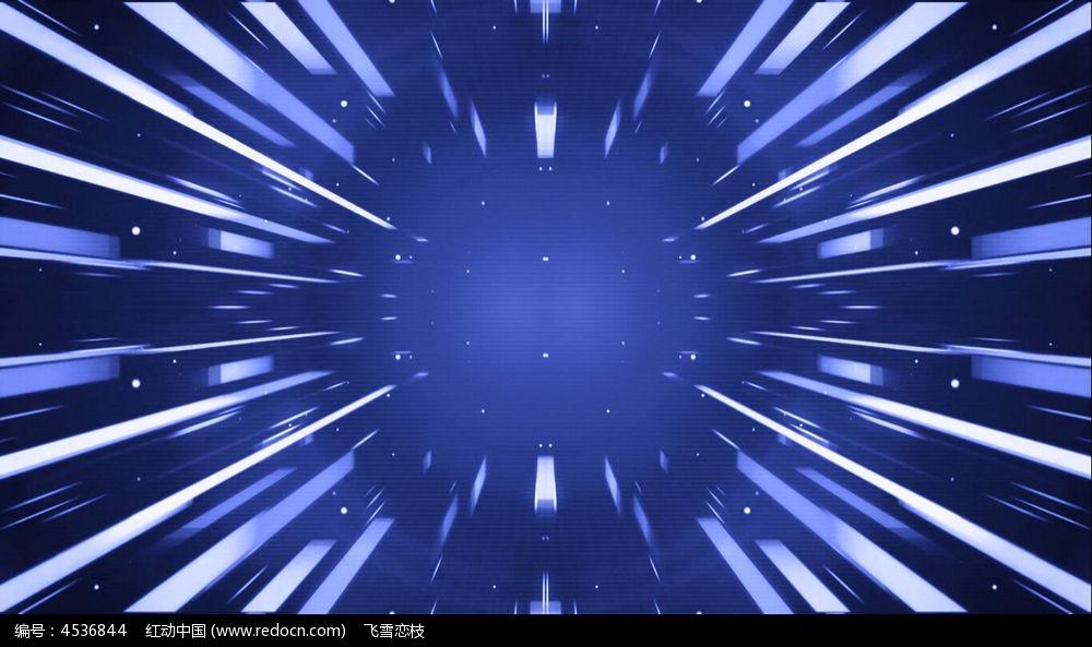 视频_蓝色的科技玄幻背景视频