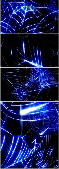 马赛克蜘蛛网特效背景视频素材