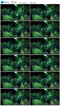 唯美大气鹤舞宽屏LED舞台背景视频素材