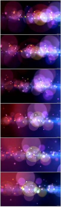 演出动感光晕光效光影背景视频素材