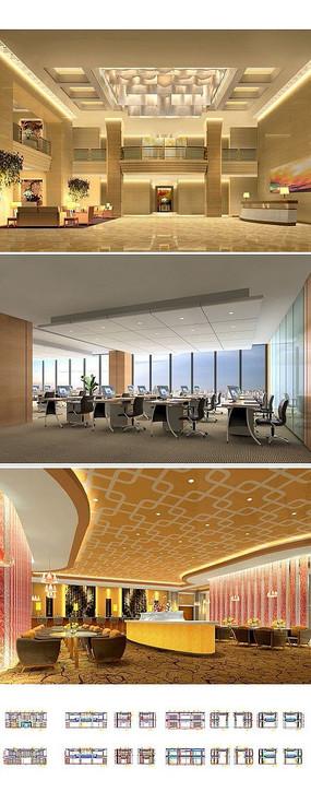 综合办公大楼cad设计图