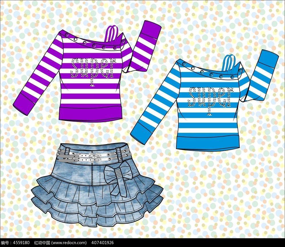 cdr服饰设计图