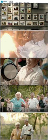 最美夕阳红公益视频广告素材