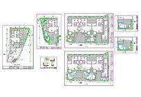 8款 别墅室内装饰cad图纸原创设计素材下载