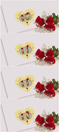 婚戒婚庆卡片视频