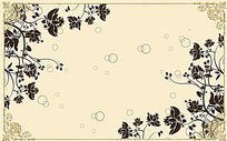 古典欧式花纹背景墙图案