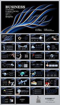 科技线条ppt背景图片