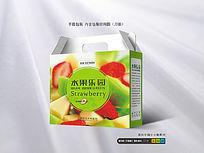 8款 精品水果包装手提箱CDR设计下载