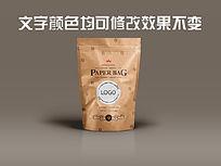 精咖啡豆包装效果图设计
