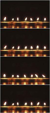 蜡烛祝福视频背景