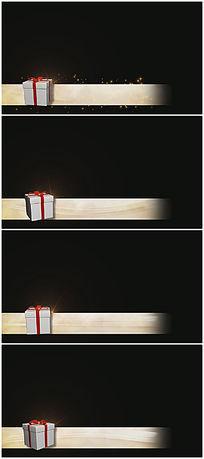 礼物盒字幕条视频
