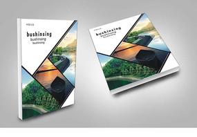 简约旅游经典宣传册封面设计