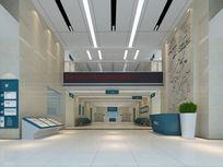 医院接待大厅3d模型 max