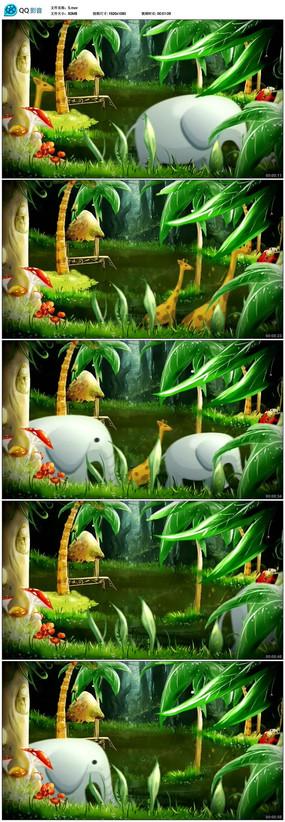 梦幻唯美浪漫森林童话视频