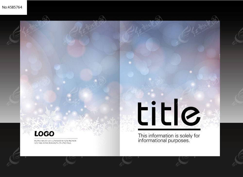 创意画册封面设计ai下载图片